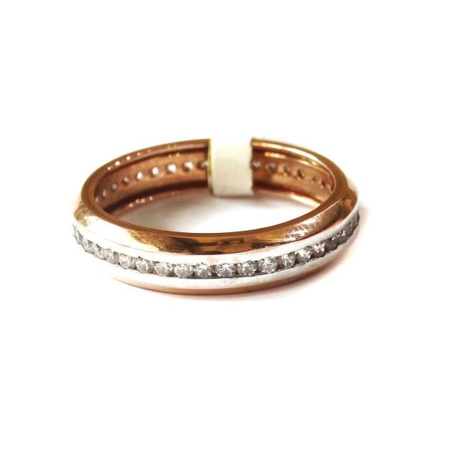 18k rose gold fancy ring mga - rgr0039