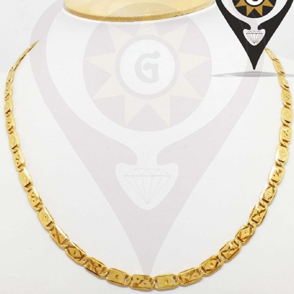 916 Gold stylish Design Hallmark Chain