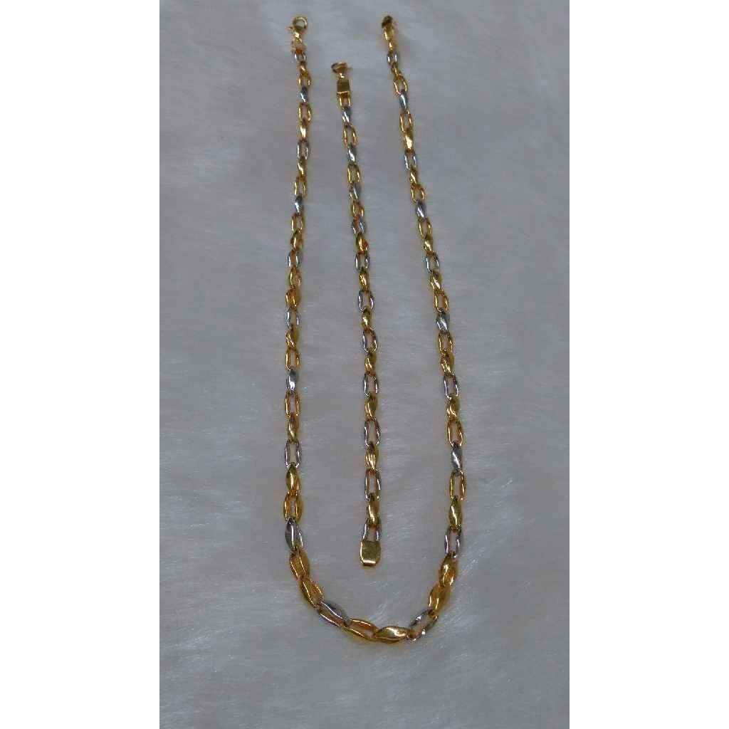 916 Gold Chain Lucky Set