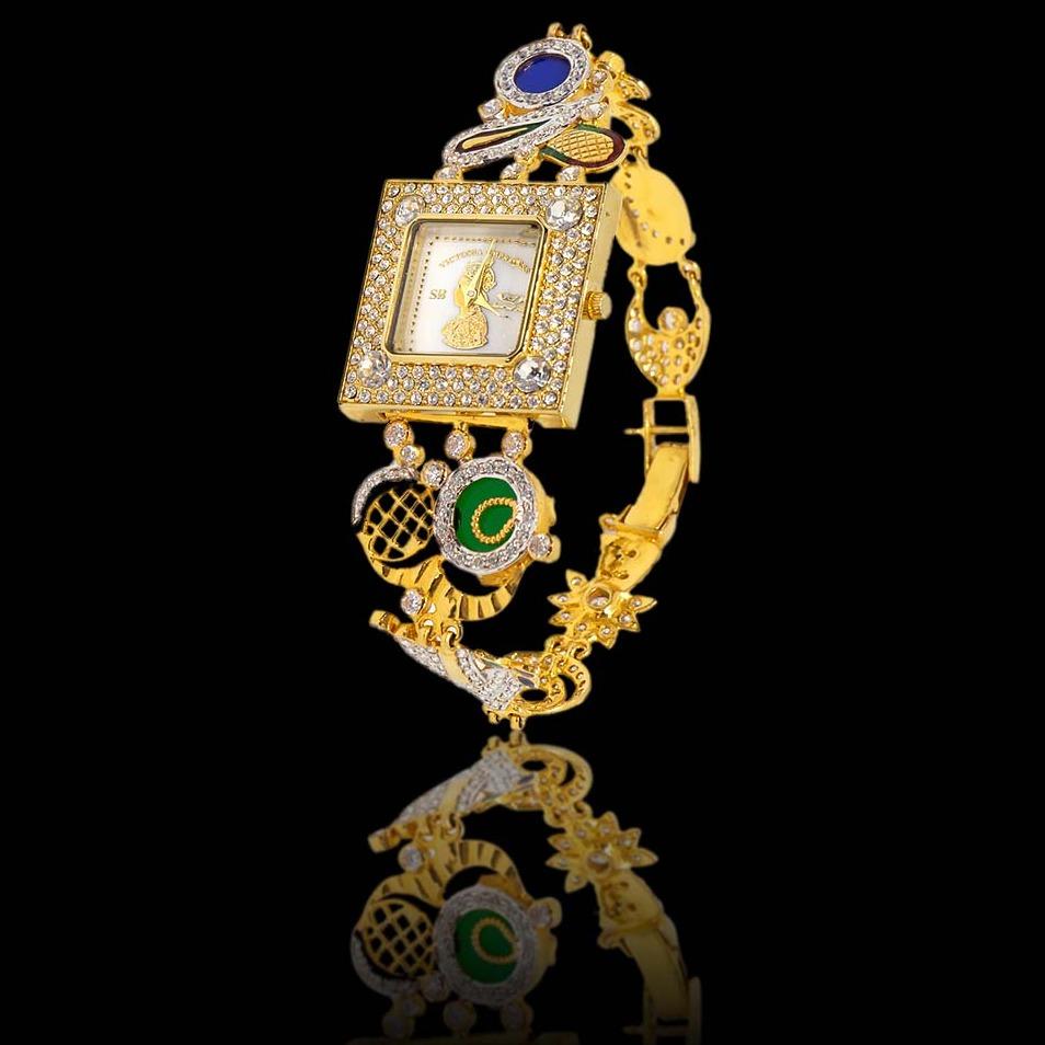 22Kt Gold Fancy Watch For Women