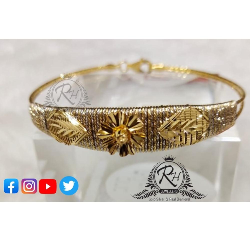 22 carat gold stylish ladies kada RH-KD286