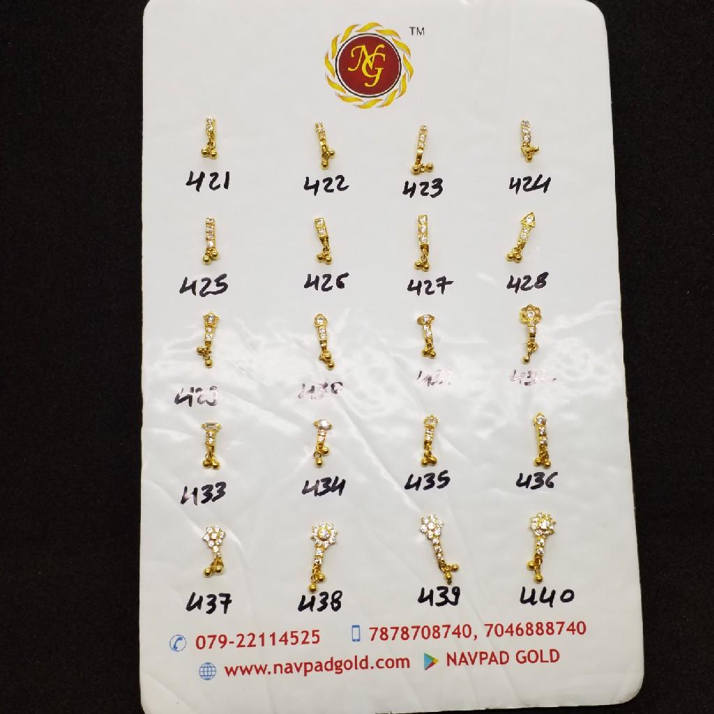 Gold Diamond kanti SG2678