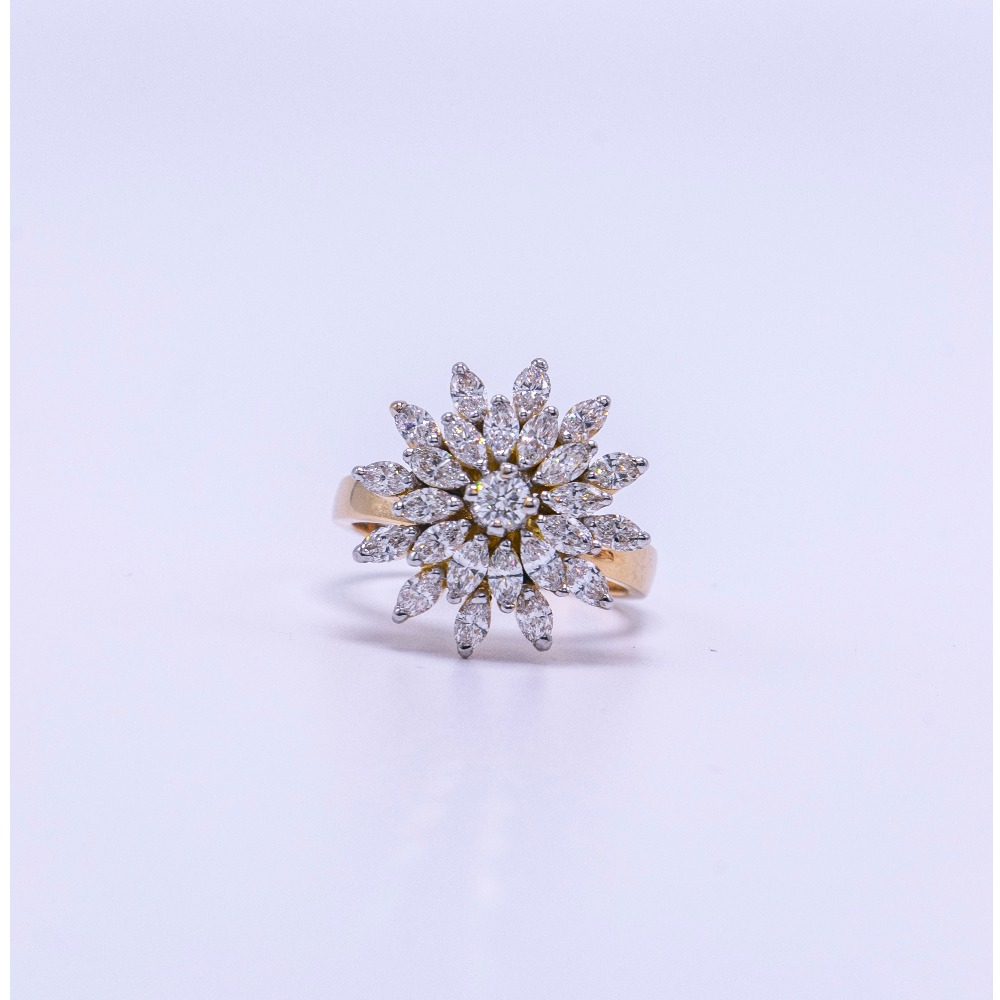 18k gold diamond ladies ring agj-lr-320