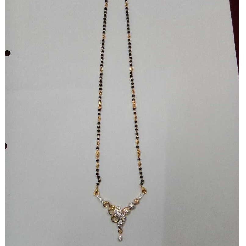 Delicate 22KT Gold Long Ladies Magalsutra