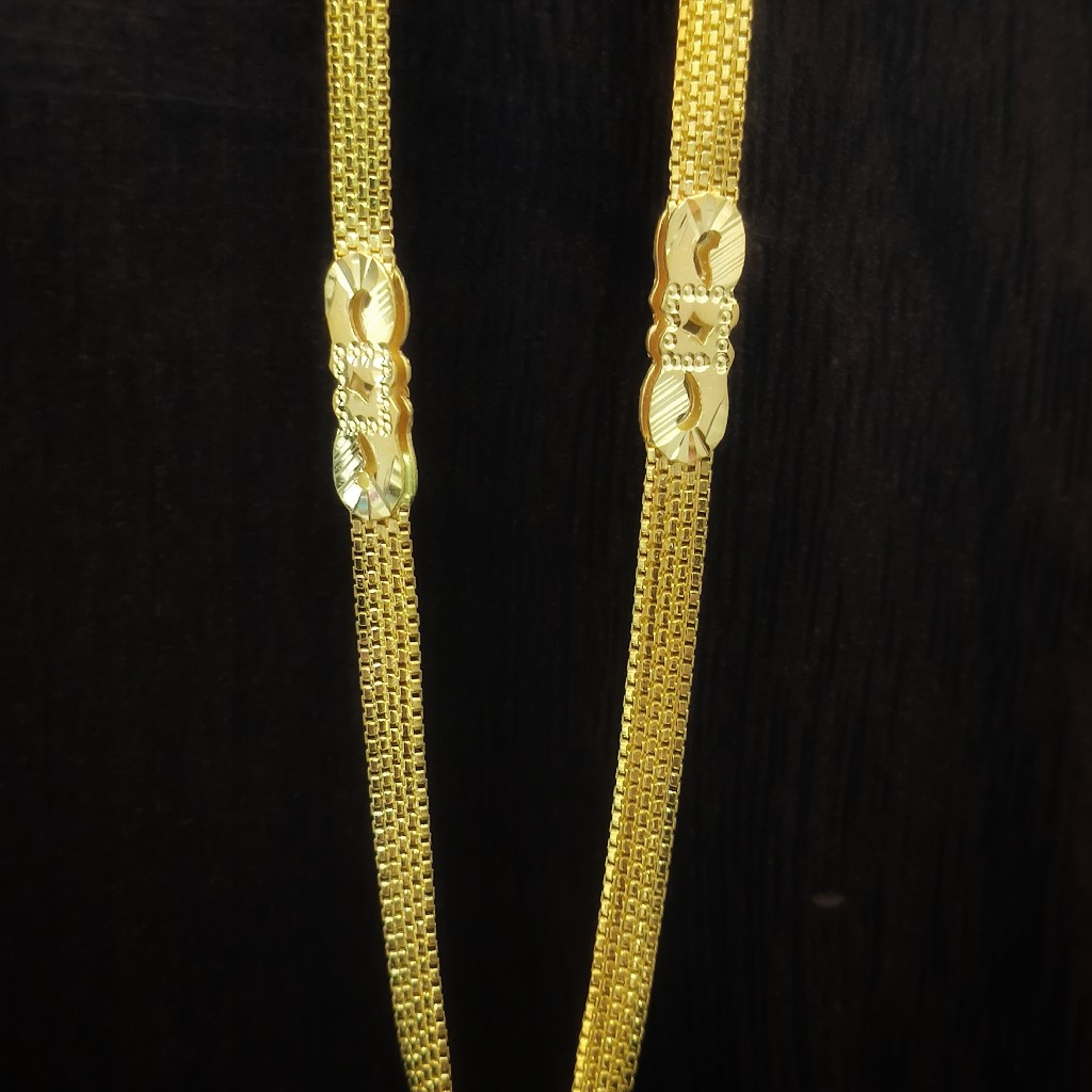 22 caret gold chain