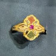 916 Gold Hallmark Ladies Ring