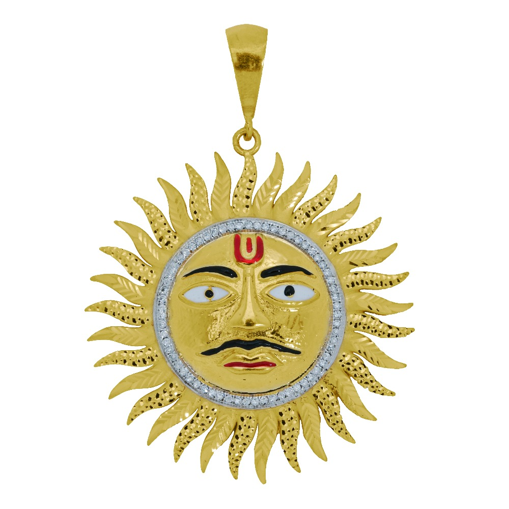 Surya pendant for men ag-p004