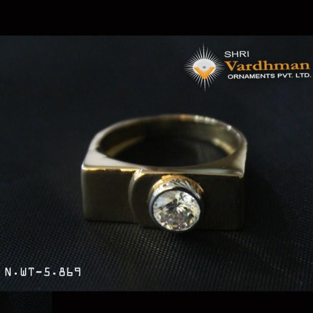 18kt gent's ring