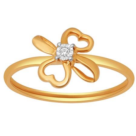 18k gold real diamond ring mga - rdr0018
