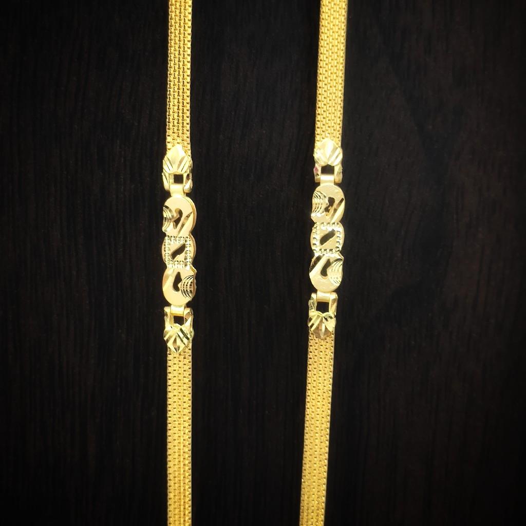 fancy heavy look  916 gold chain