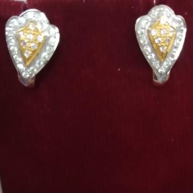 916 hallmarked Earrings YU6382