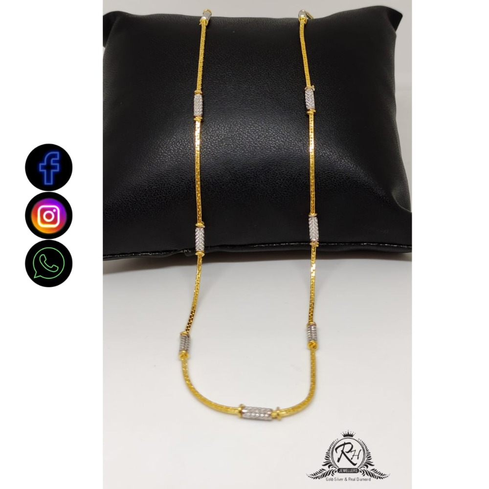 22 carat gold chain RH-CH408