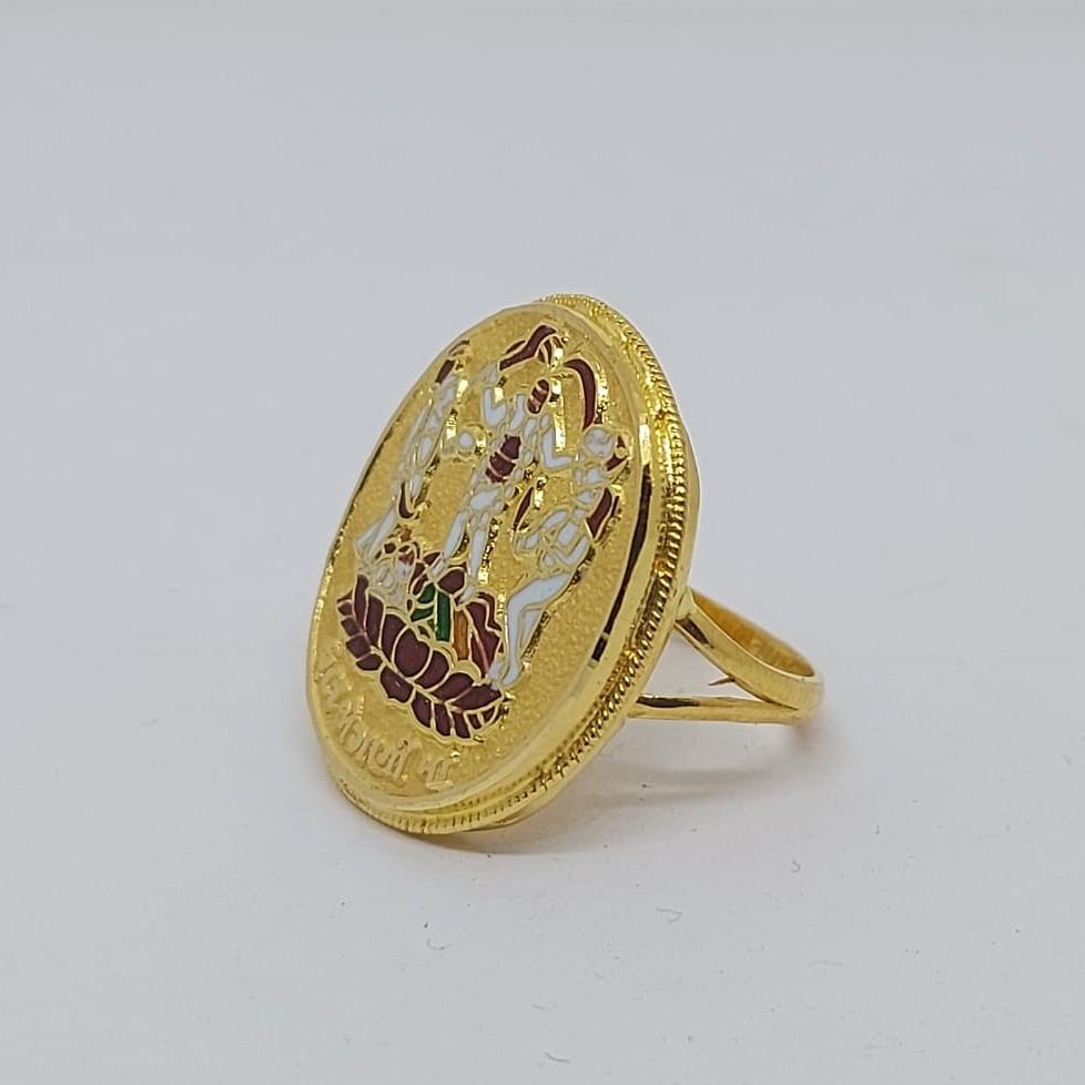 916 gold fancy gent's fuljogani ring