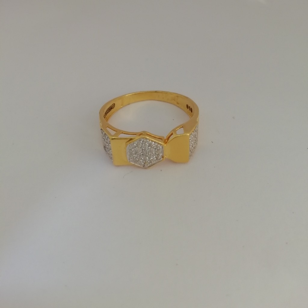916 gold casting Gents ring