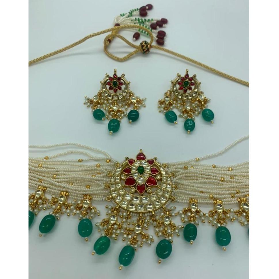 kundan Artificial necklace set