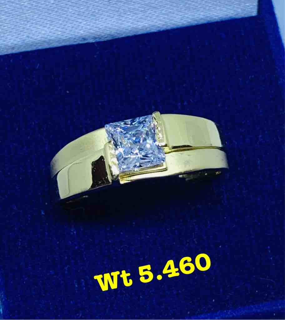 Solitaire Gents Ring