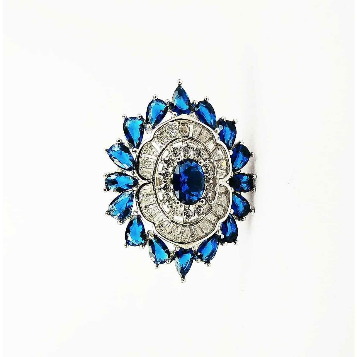 Fancy Designer 925 Silver Ladies Rings