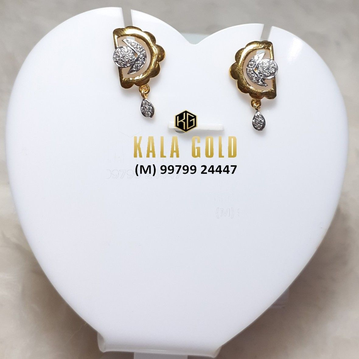 916 Fancy CZ Earrings