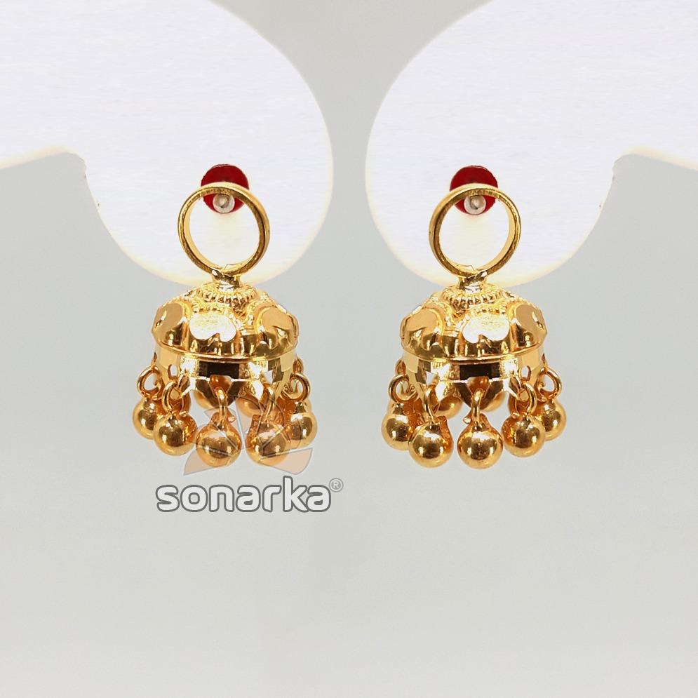 Gold detachable earring jumar sk - e016