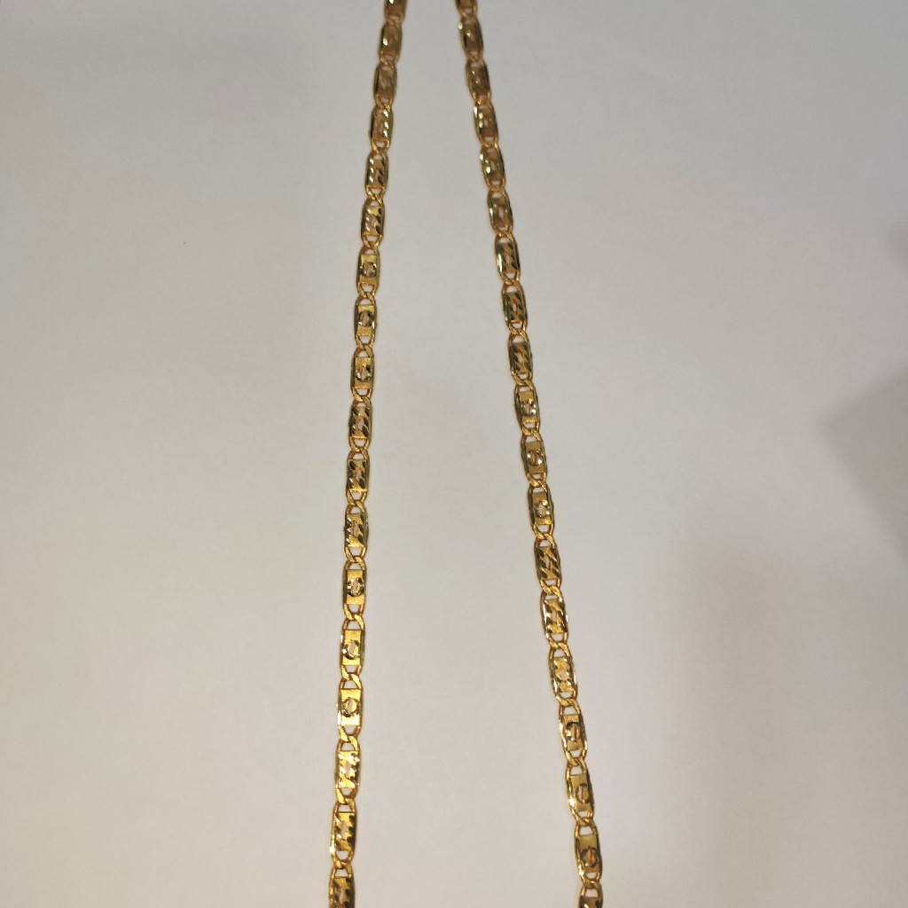 22k 916 hollow Nawabi chain