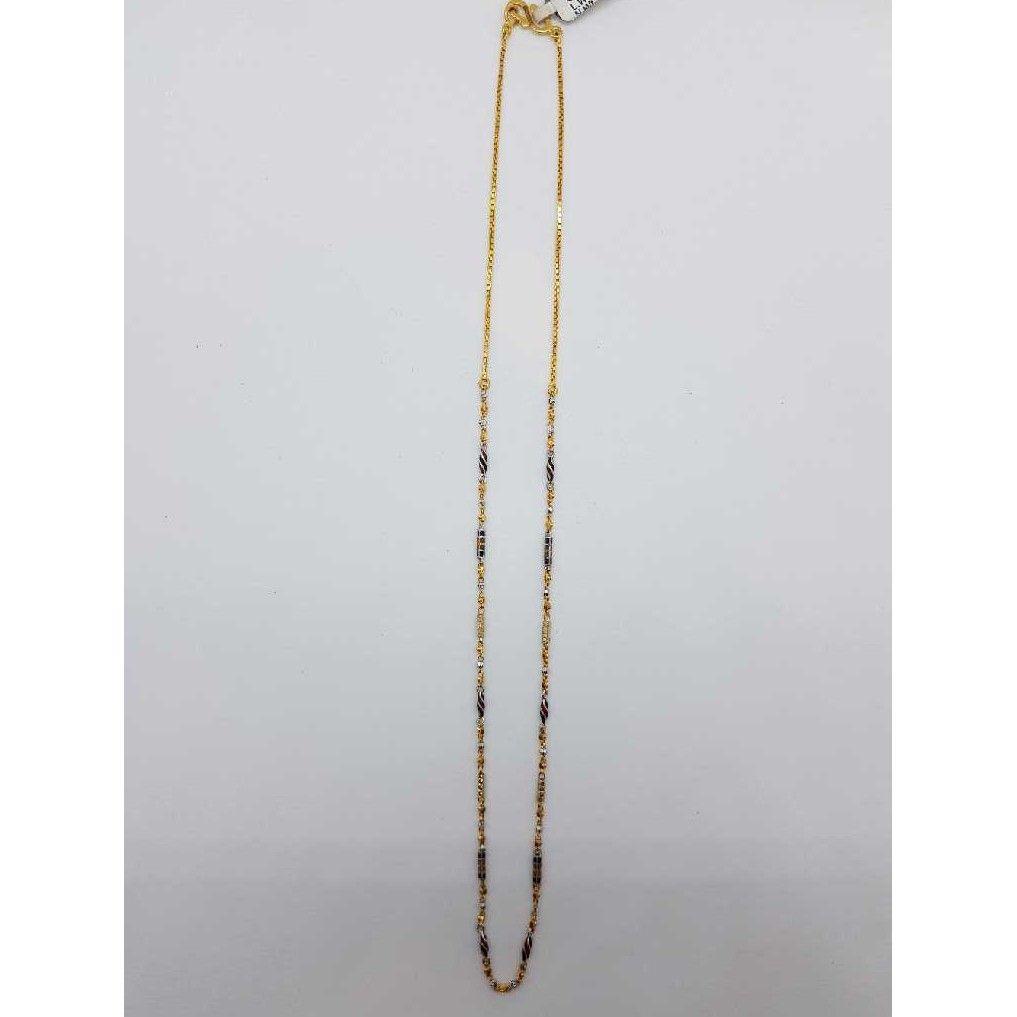 916 Gold mina chain SJ-CHAN/80