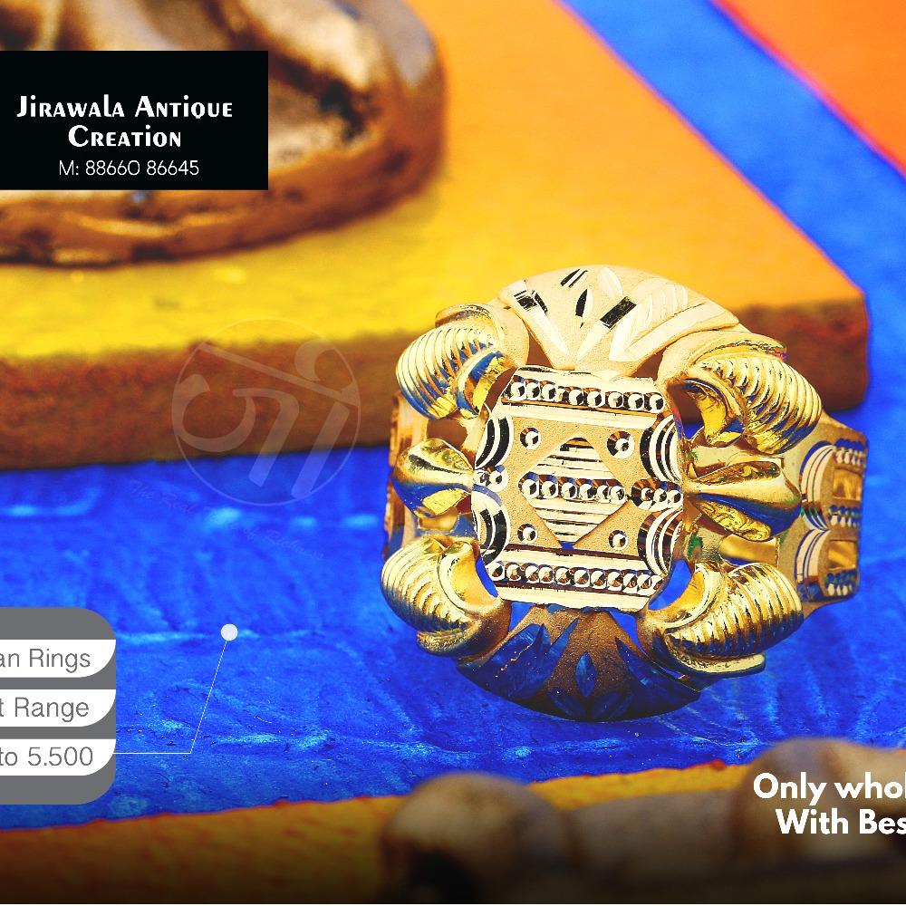 22KT Designer Nazaran Gold Ring JAR-016