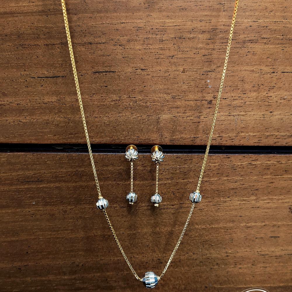 22KT Gold Beads Dokiya Set PO-N07