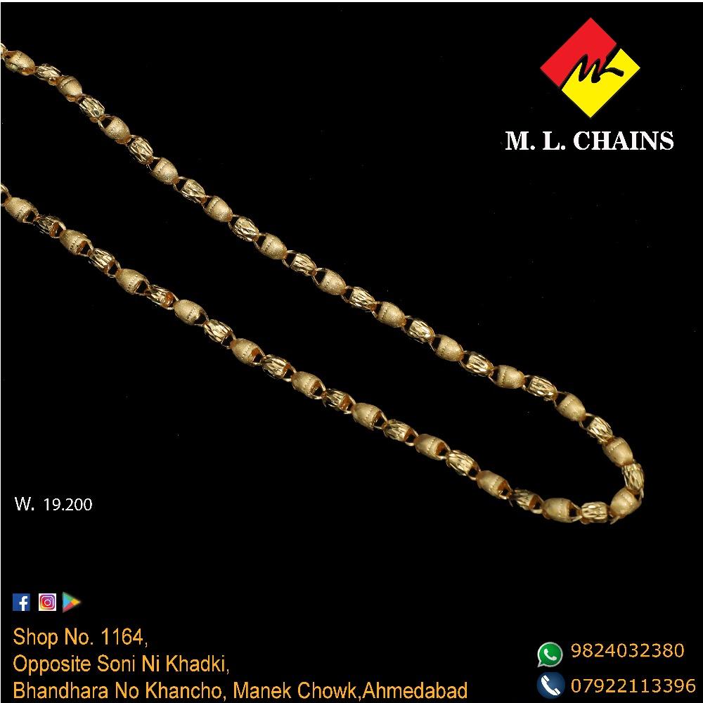 22K Gold Indo Italian Chain ML-C19