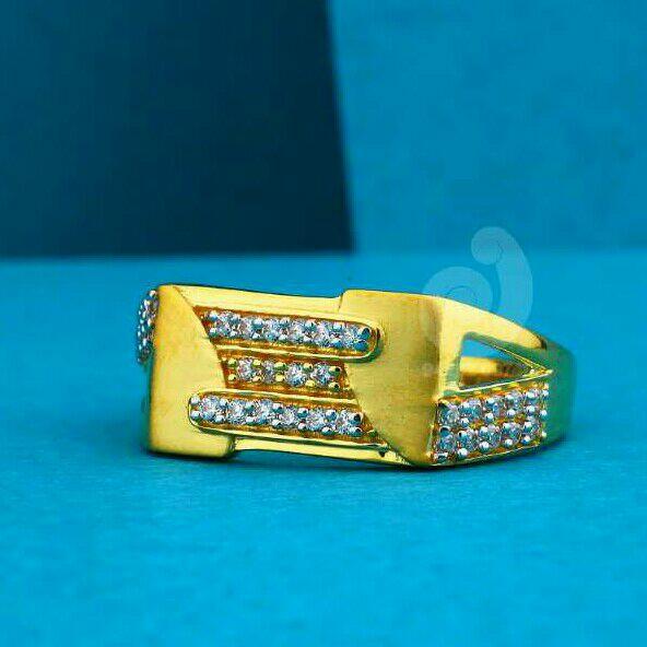 22ct Fancy Gents Ring