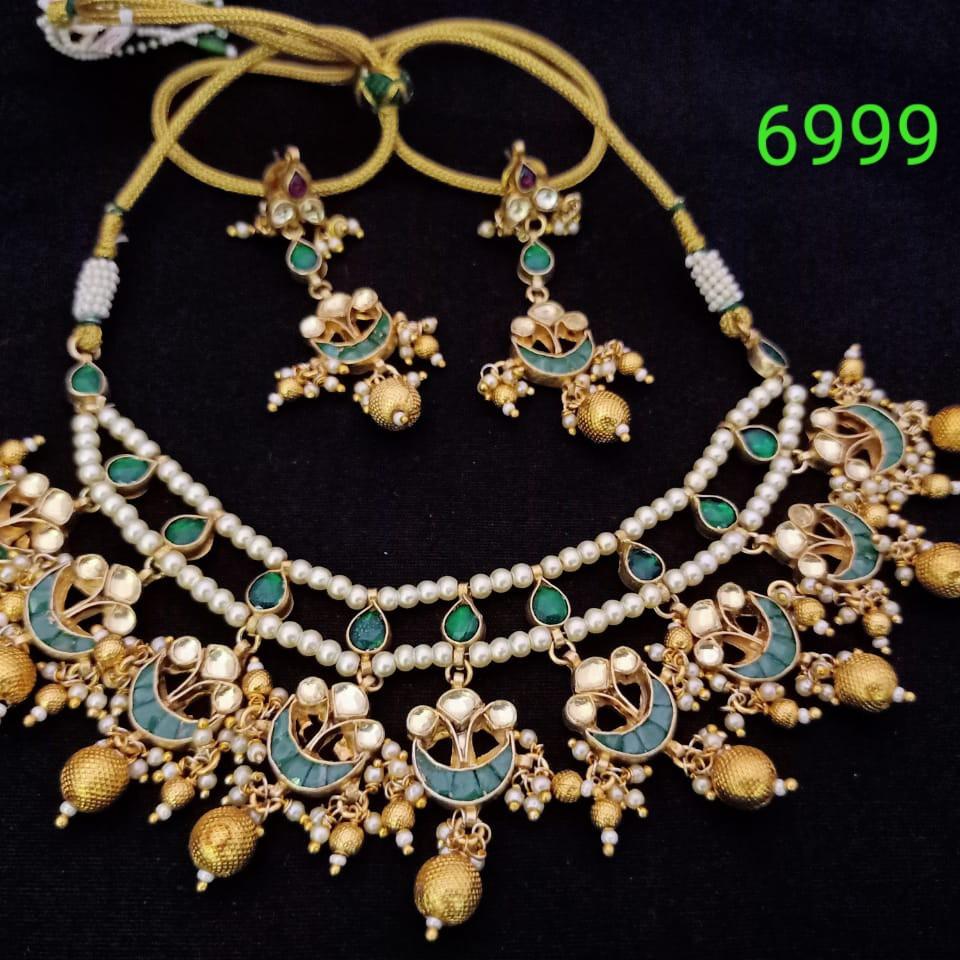 Delicate necklace set#dcns007