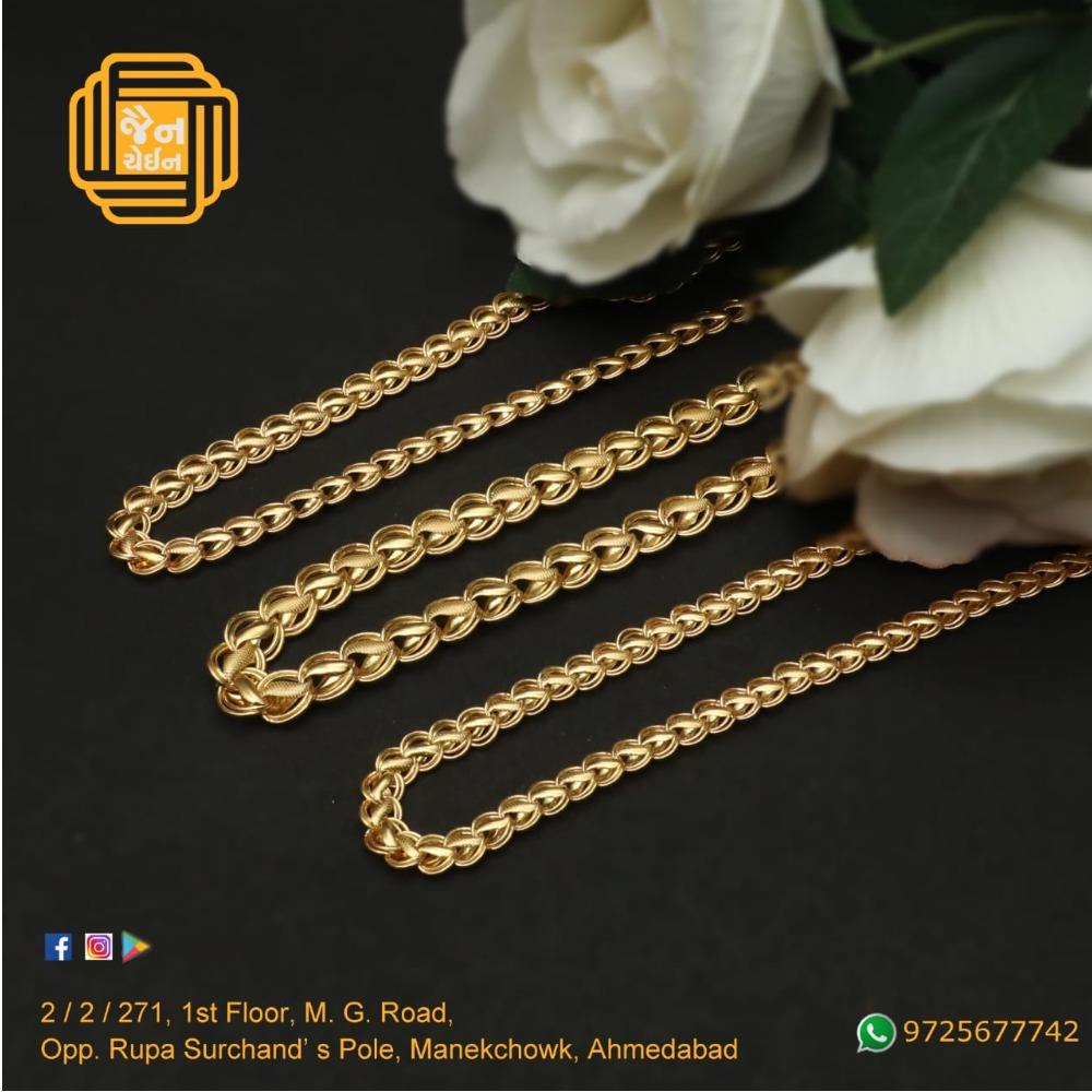 916 Gold Fancy Chain For Men JC-C007