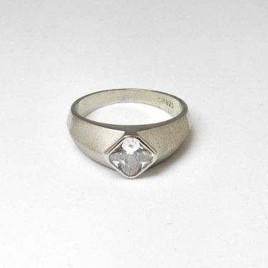 925 Sterling Silver Casual Gents Ring