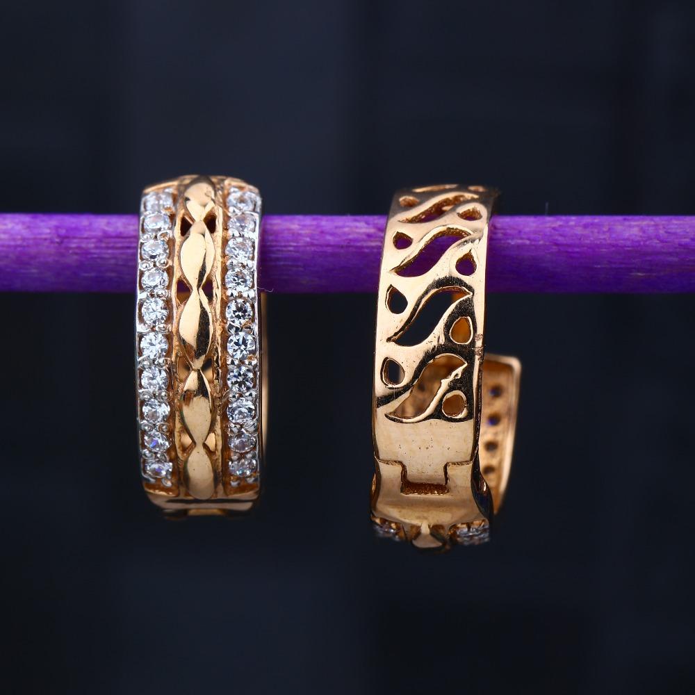 18KT Rose Gold Hallmark Light Weight Design Tops