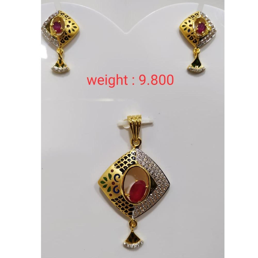 22 k 916 gold ruby  diamond