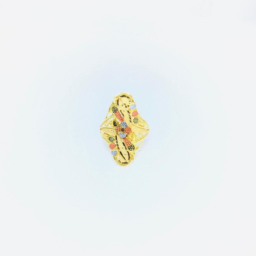 DESIGNING FANCY GOLD LADIES RING