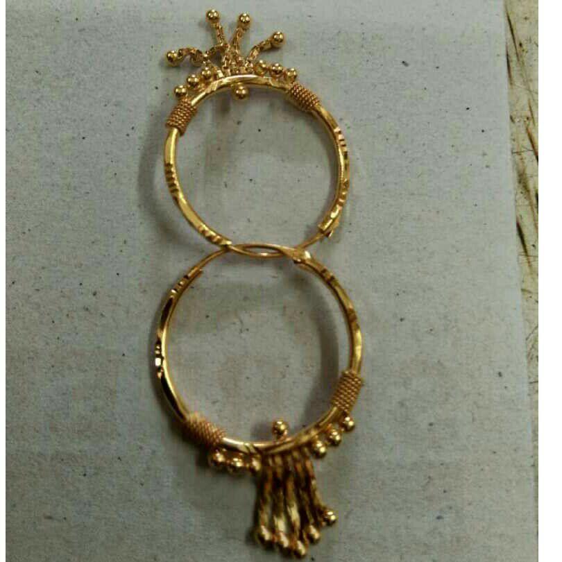 20Kt Gold Fancy Ladies Earrings