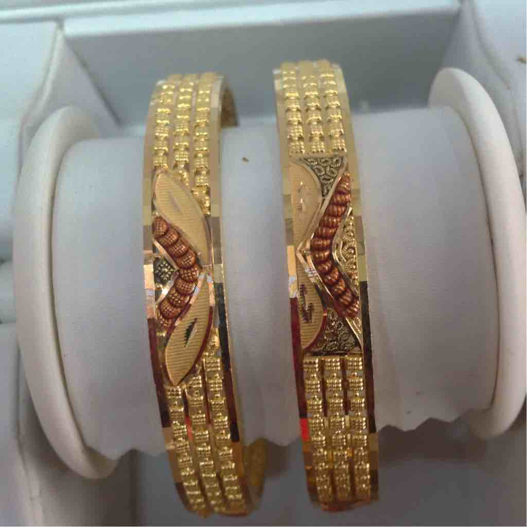 916 Gold Jadtar Bangle