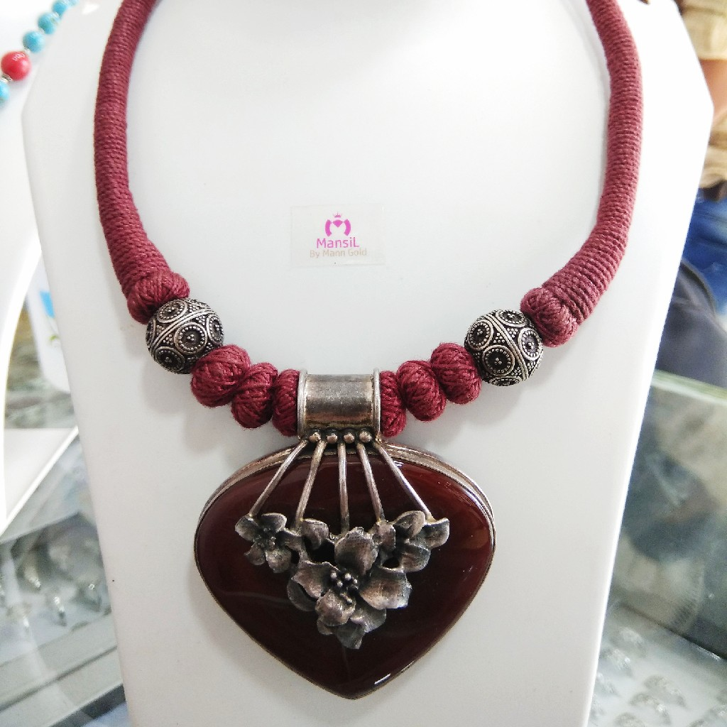 92.5 sterling silver necklace ML-66