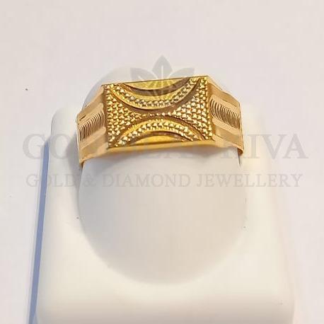 22kt gold ring ggr-h78