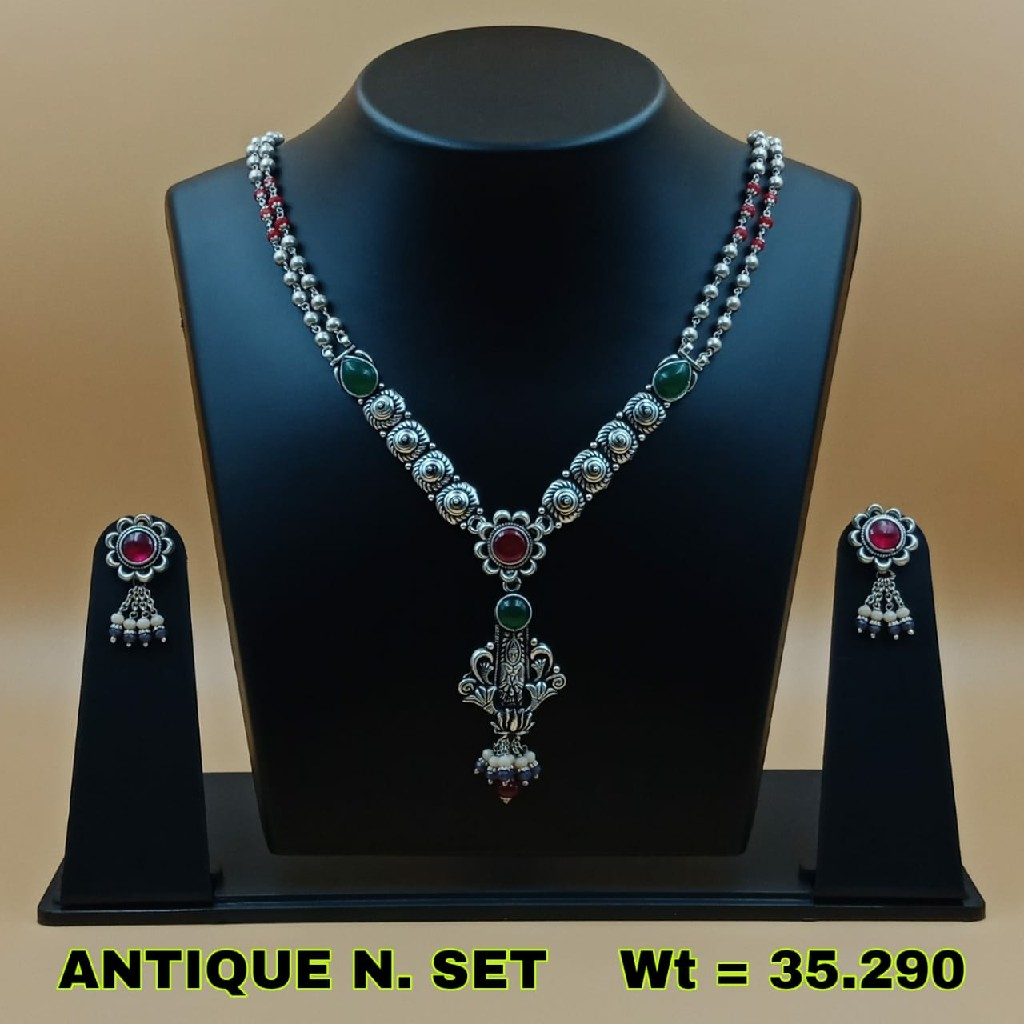 92.5 Antique necklace set SL N024