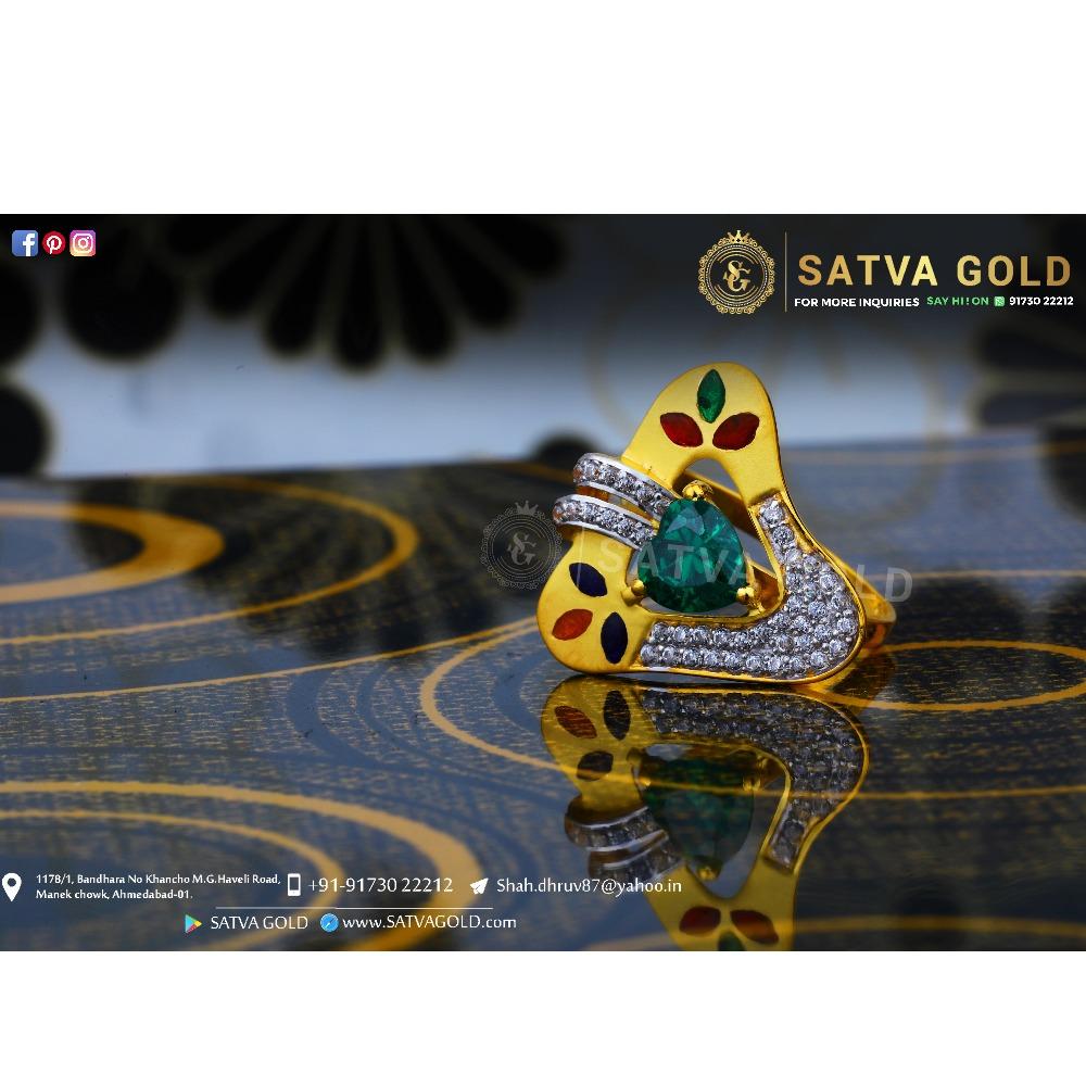 916 gold ring sgr-0047