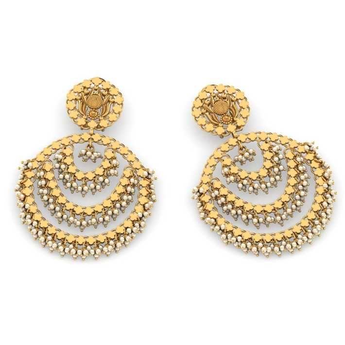 22ct Antique Earrings