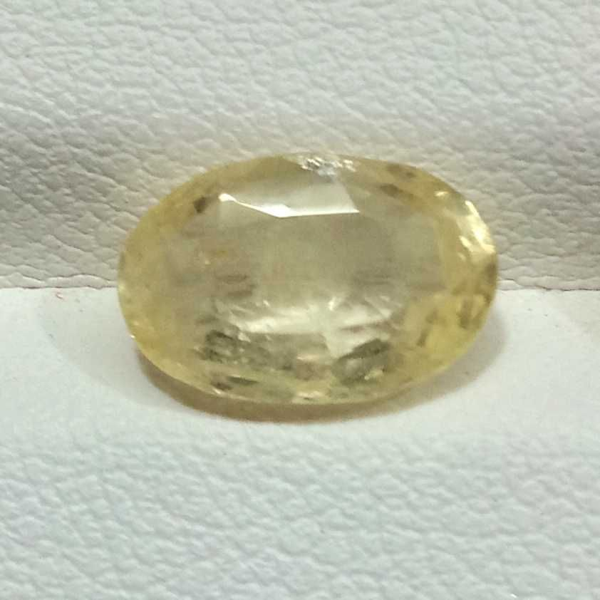 3.18ct oval yellow yellow-sapphire-pukhraj