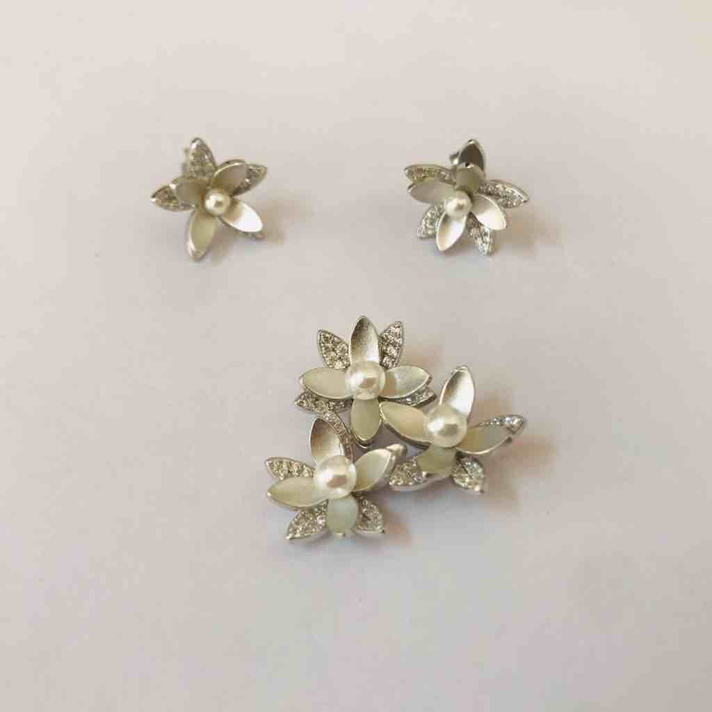 925 sterling silver pendant set