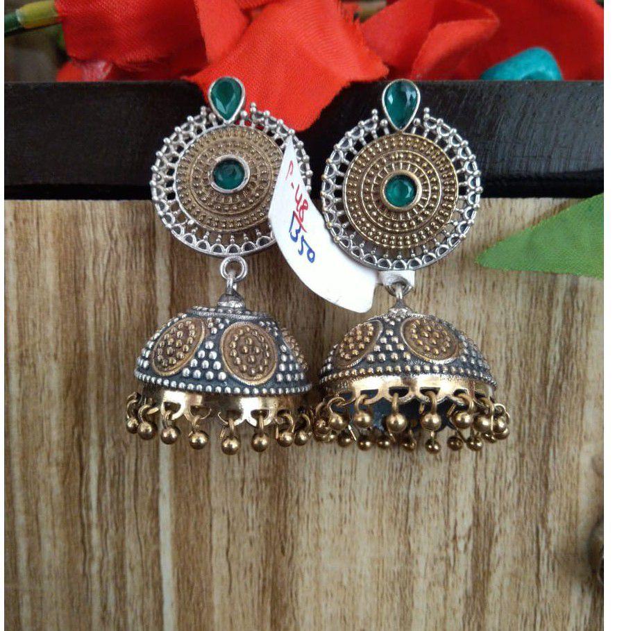 silver designer earrings