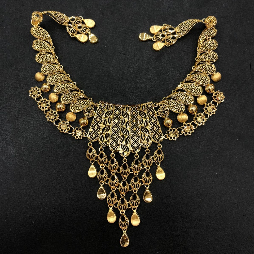22K Gold Attractive Turkish Necklace Set