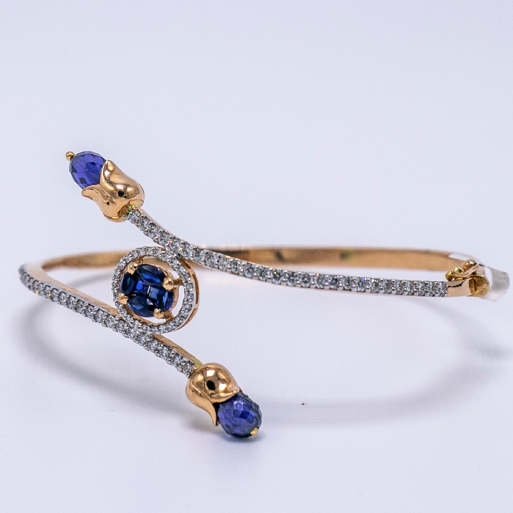 18K gold diamond bracelet agj-br-157