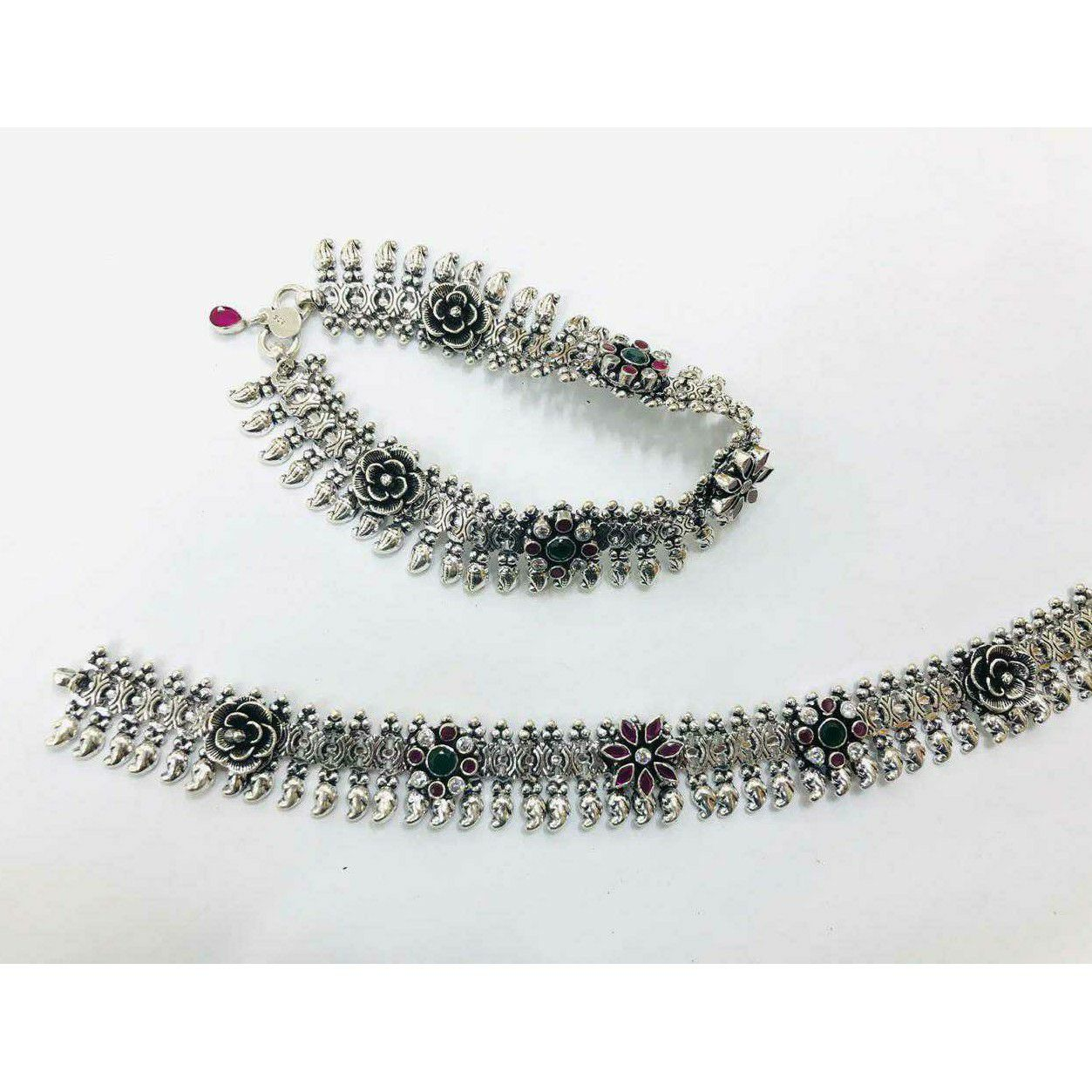 92.5 Sterling Silver Unique Look Ankket(Payal) Ms-3808
