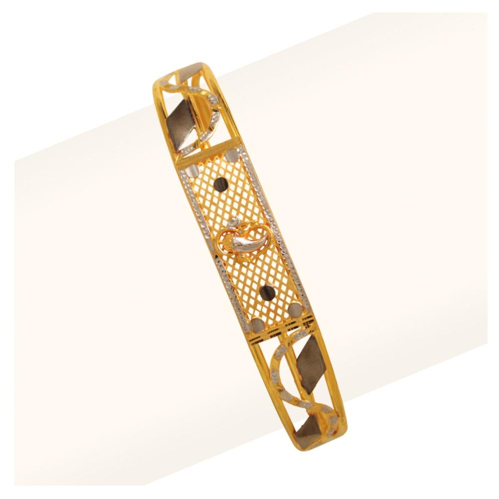 916 Gold Anique Gents Bracelet RJA-004