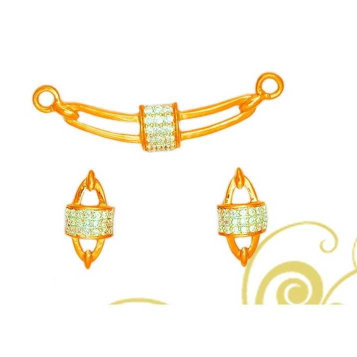 916 Yellow Gold Fancy Pendant